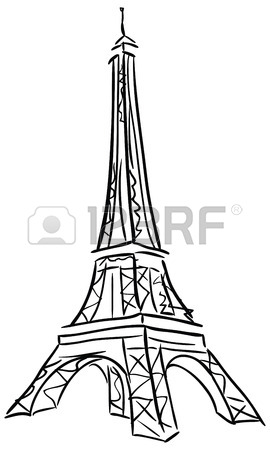 270x450 How To Draw The Eiffel Tower
