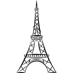 236x236 How To Draw The Eiffel Tower Eiffel Tower Art, Tower And France
