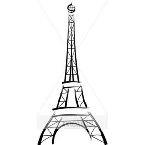 300x300 Eiffel Tower Clipart Doodle