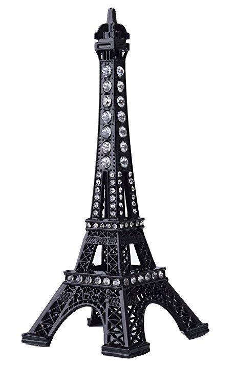 457x717 Eiffel Tower Cake Topper,joyfamily 7inch (18cm) Metal