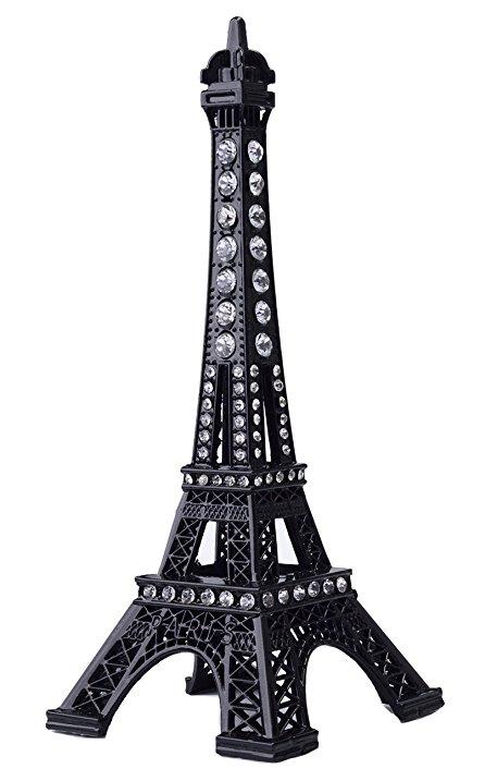 457x717 Eiffel Tower Cake Topper,JoyFamily 7Inch (18cm) Metal