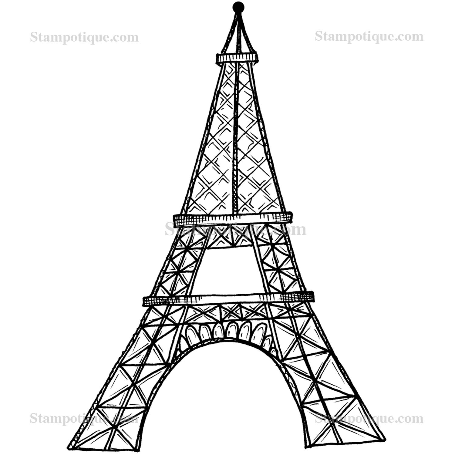 1500x1500 Eiffel Tower