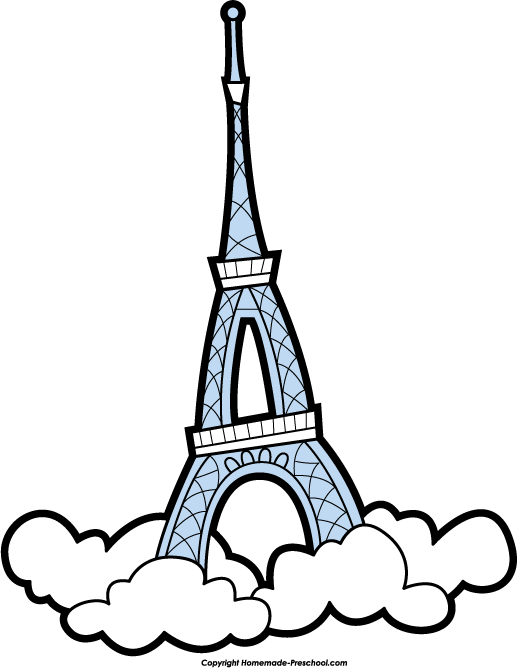 517x668 Free Eiffel Tower Clipart 3