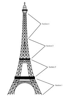 236x328 How To Draw The Eiffel Tower Step By Step Wall Decal