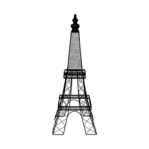 299x299 Metal Eiffel Tower Decor Wayfair