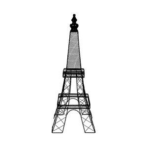 299x299 Metal Eiffel Tower Decor Wayfair