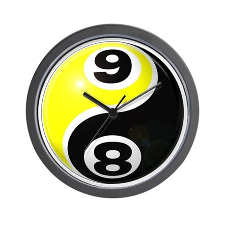 460x460 Eight Ball Clocks Eight Ball Wall Clocks Large, Modern