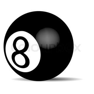 320x320 Eight Ball Icon Or Logo
