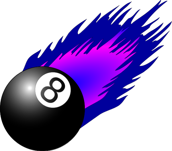 600x528 Magic Eight Ball Clipart