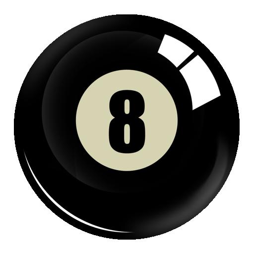 512x512 8 Ball Clipart