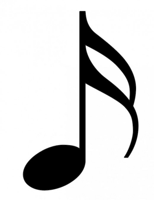 520x672 Eighth Note Clipart