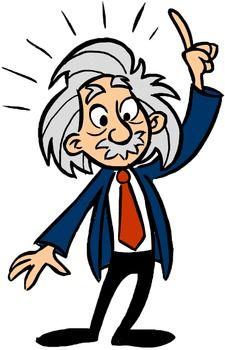 225x350 Scientist Clipart Einstein