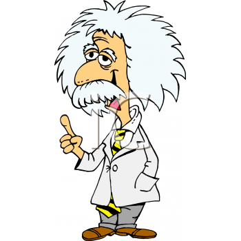 350x350 Einstein Cartoon Left Looking Boys And Girls Science And Tech Club