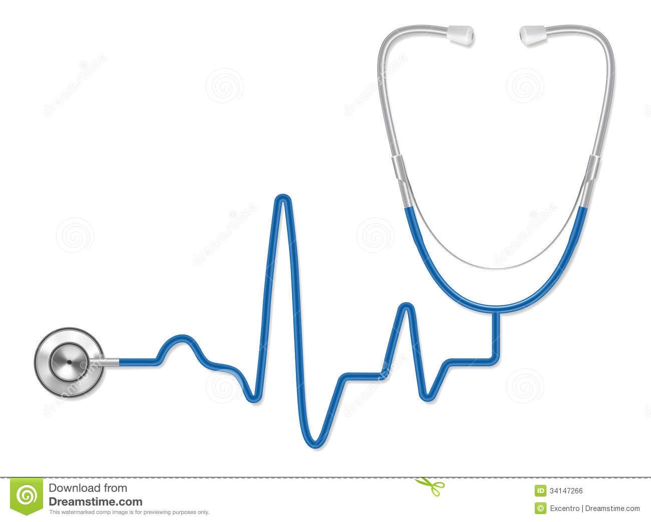 1300x1043 Ekg Stethoscope Clipart