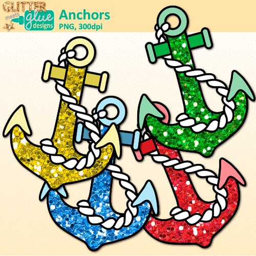 500x500 Nautical Anchor Clipart Teacher Clip Art Glitter Meets Glue