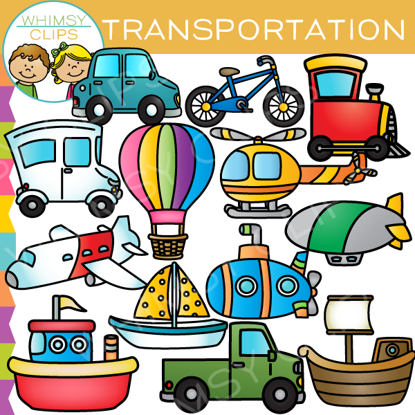 600x600 Air, Land, And Sea Transportation Clip Art , Images