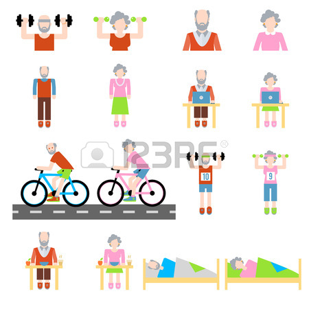 450x450 3,573 Senior Sport Stock Vector Illustration And Royalty Free