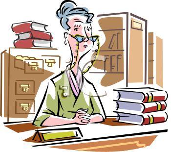 350x310 Elderly Librarian