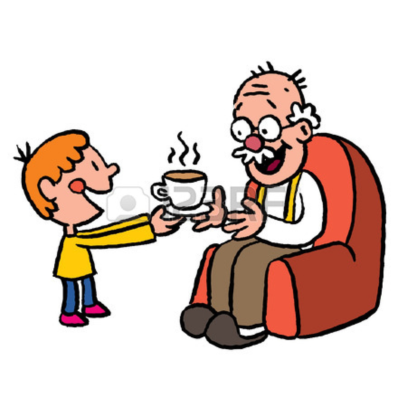 1350x1350 Helping Elderly Clip Art Clipart