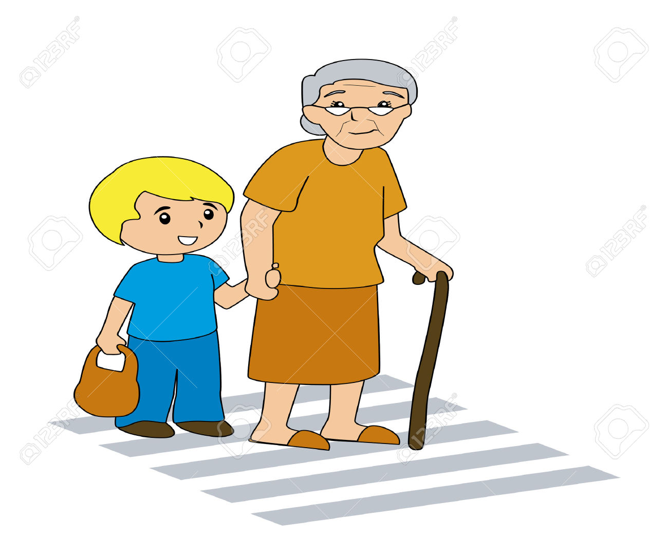 1300x1089 Helping Old People Clip Art