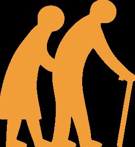 276x299 Senior Citizen Clip Art