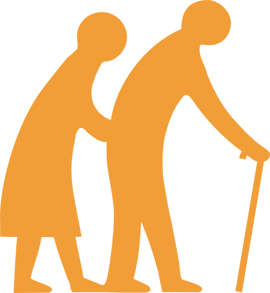 552x598 Senior Citizen Clip Art