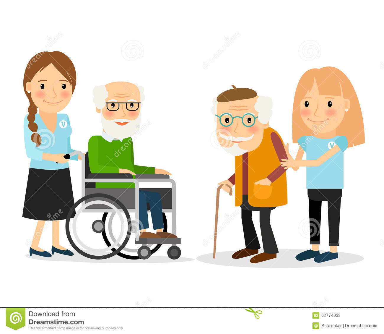 1300x1130 Seniors Helping Seniors Clipart