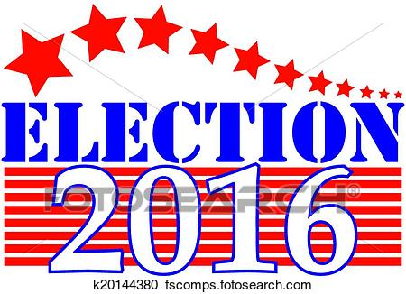 450x326 Clipart Of Election 2016 Graphic K20144380