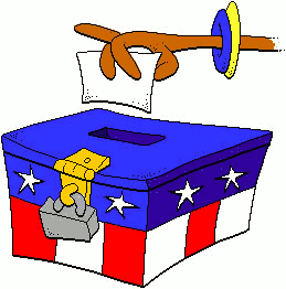 259x262 Election Box Clip Art