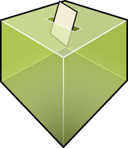261x300 Election Box Clip Art