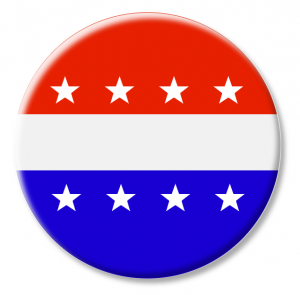 300x295 Election Buttons Clip Art Download
