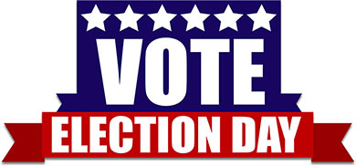 390x182 Election Day Clip Art Many Interesting Cliparts