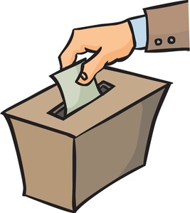 267x300 Finger Clipart Election