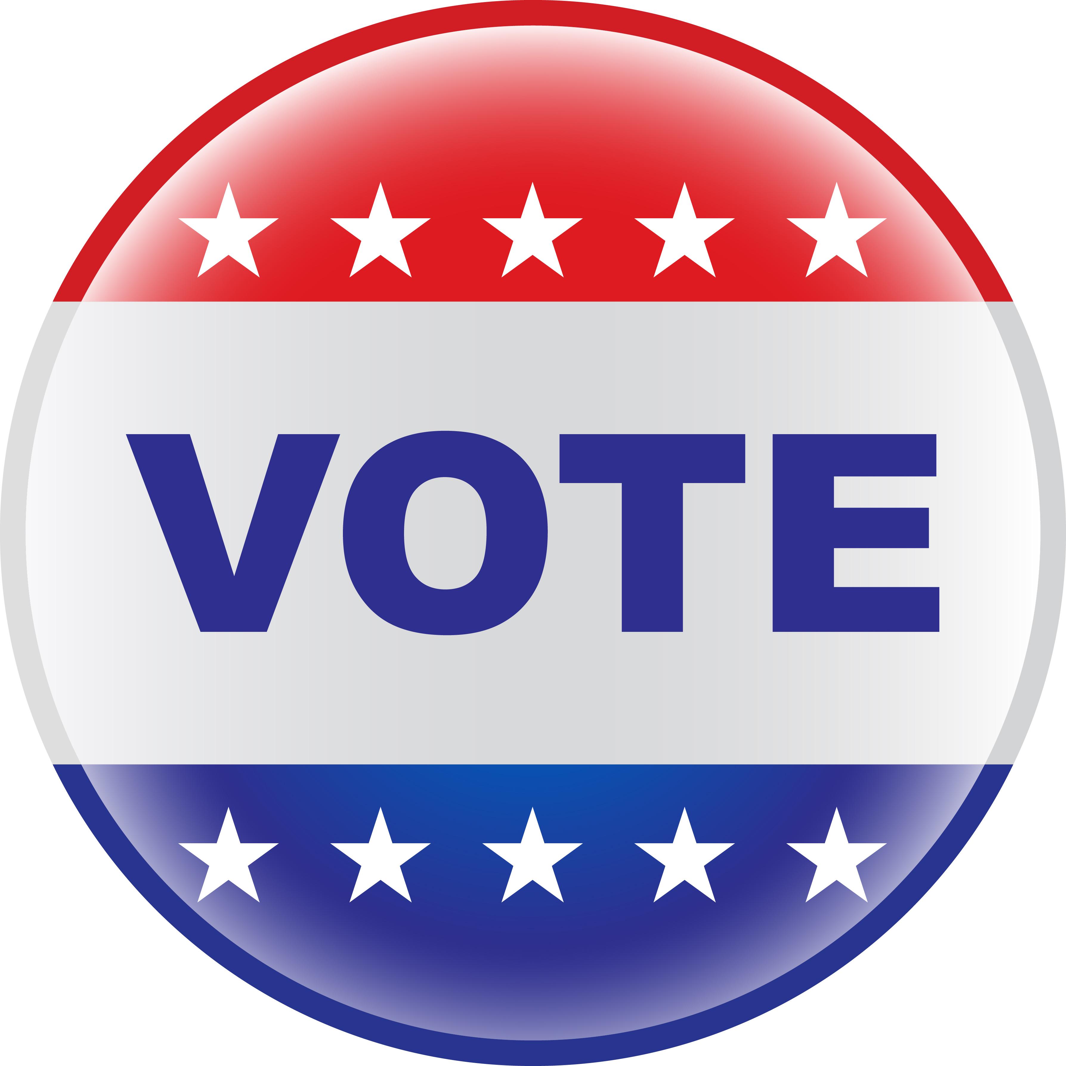 3575x3575 Button Clipart Vote