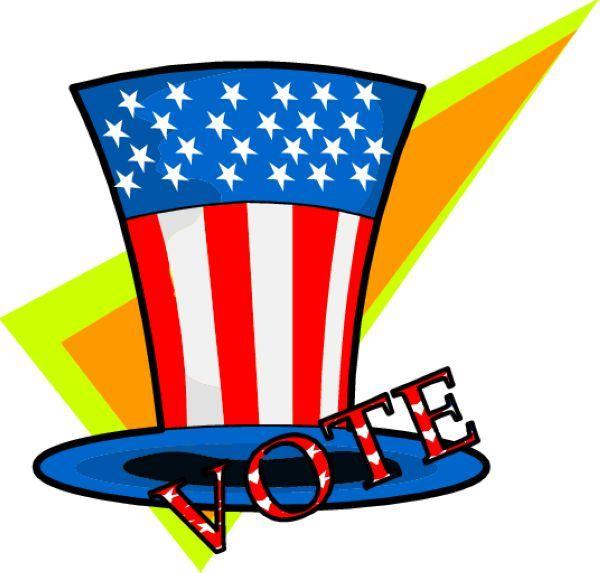600x573 8 Best Election Clip Art Images Clip Art, Banners