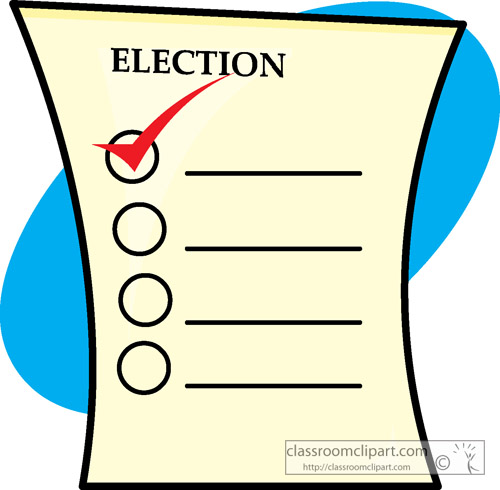 500x490 Free Voting Clipart