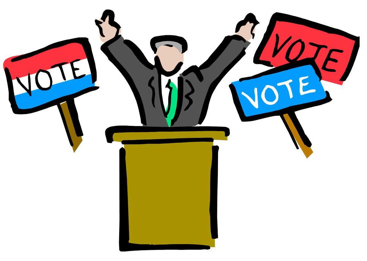 1192x850 Election Sign Clipart