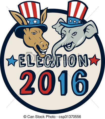 415x470 Free Clipart Election 2016