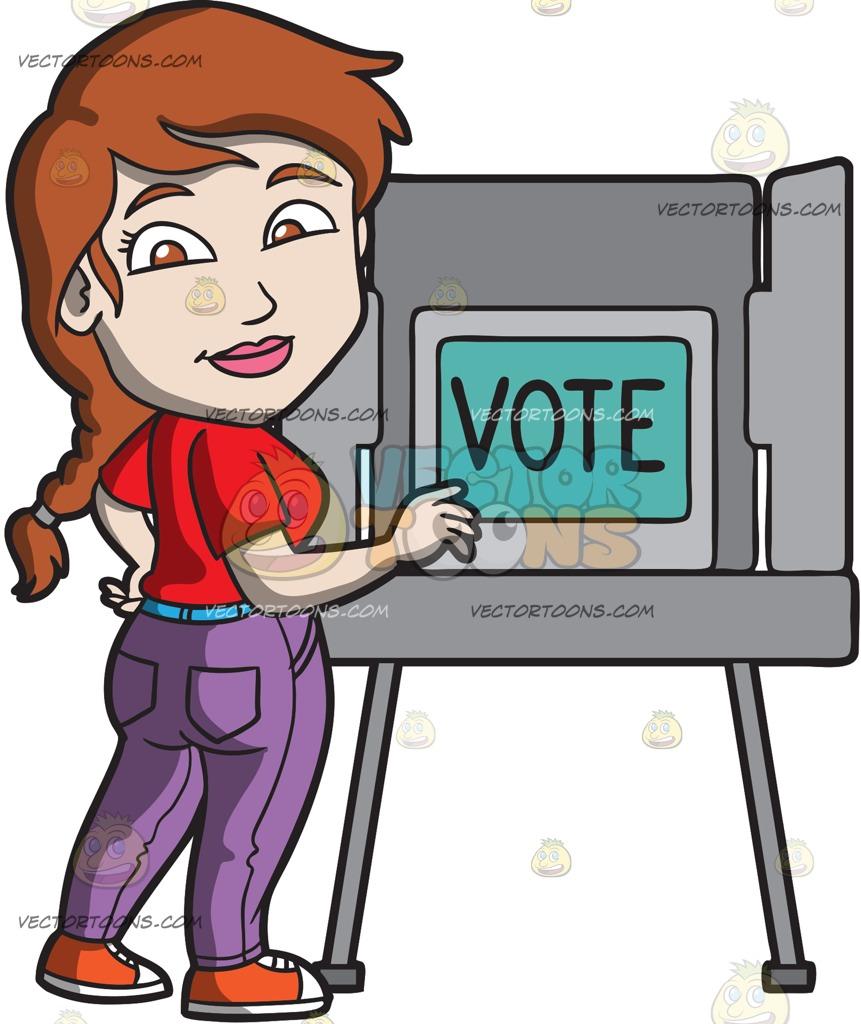 861x1024 Women Vote Clipart