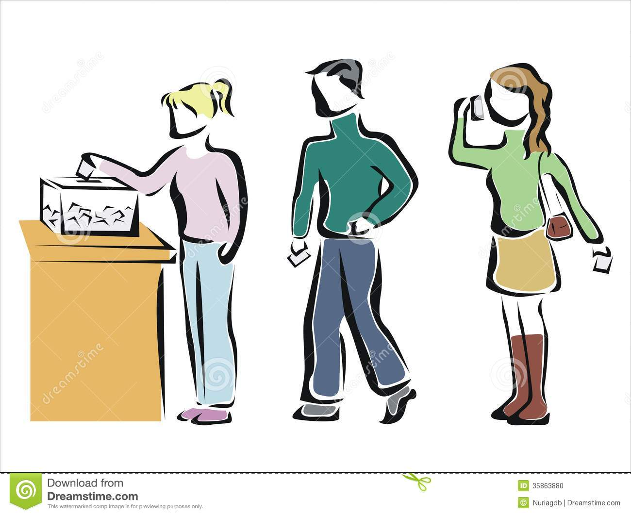 1300x1063 Election Voting Clipart