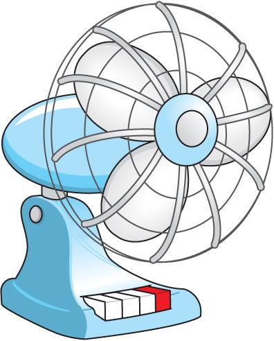 396x492 Fan Clip Art