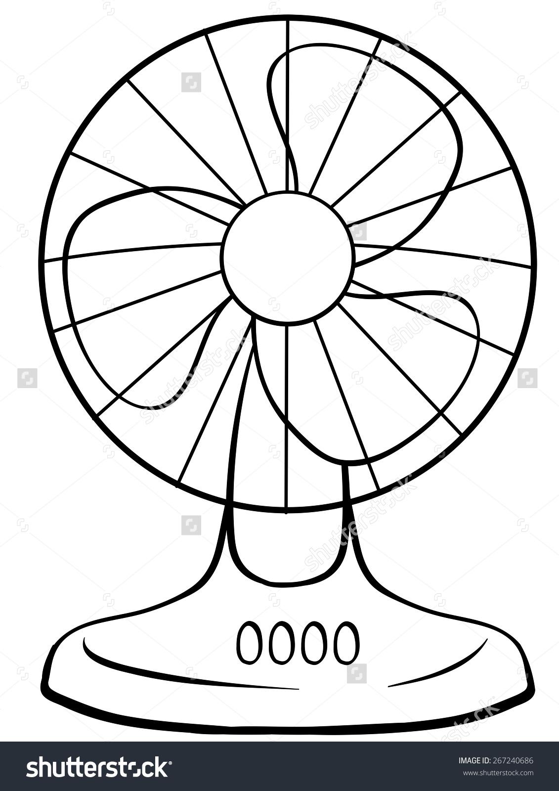 1131x1600 Fan Clipart Drawing