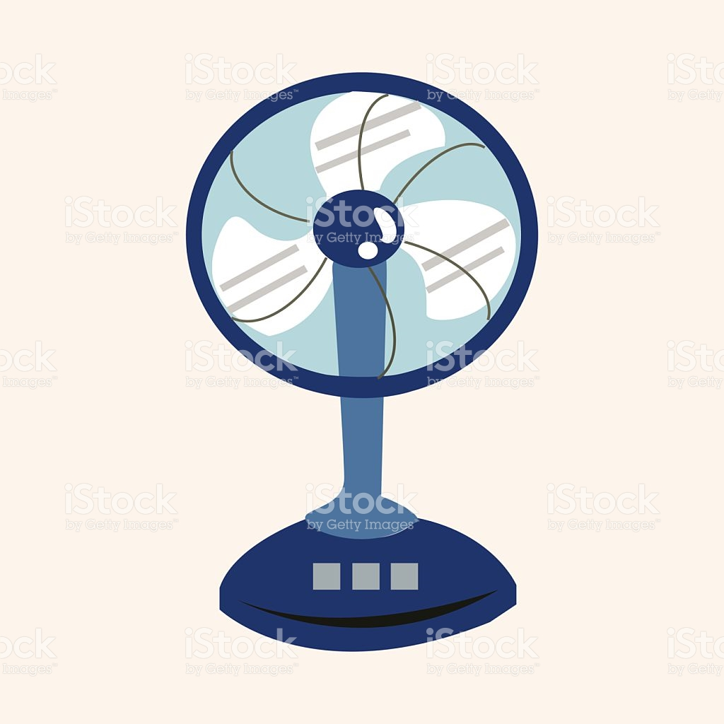 1024x1024 Fan Clipart Electric Appliance