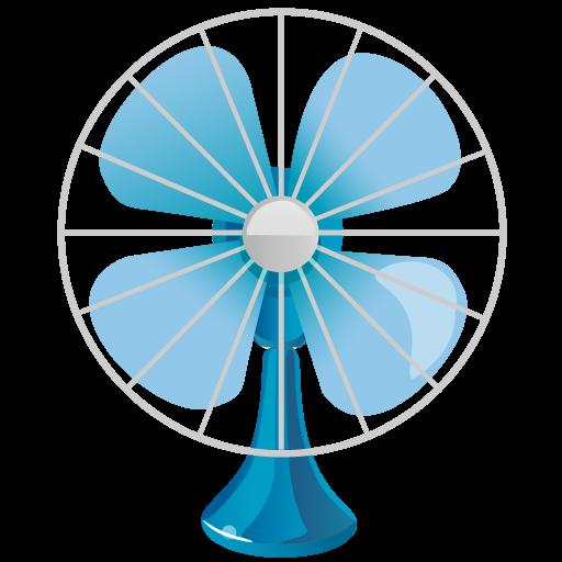 512x512 Fan Clipart Transparent