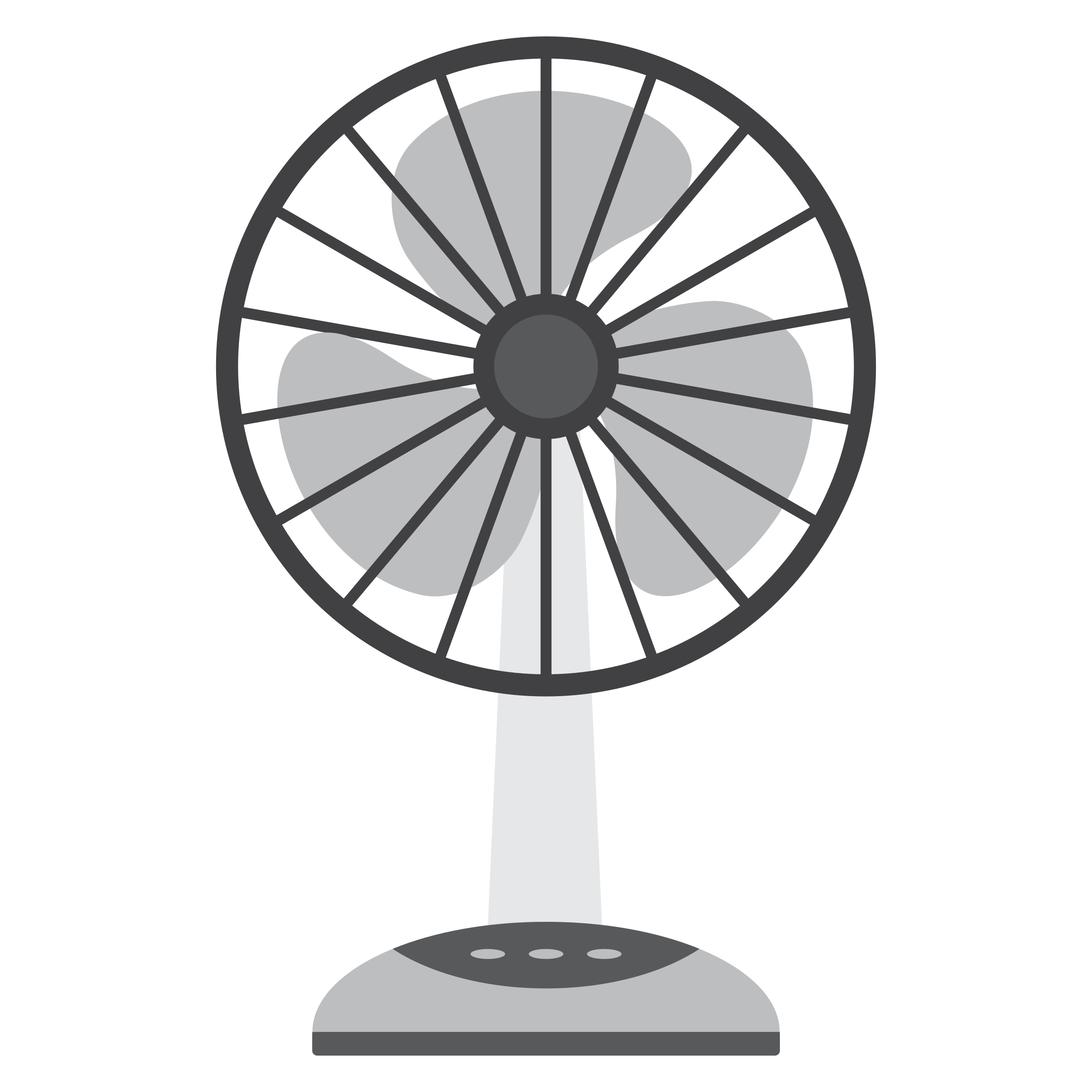 2400x2400 Free Of Electric Fan Vector Clipart