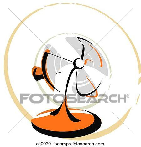 450x470 Stock Illustrations Of Electric Fan Eit0030