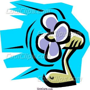 300x299 Electric Fan Vector Clip Art