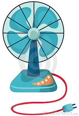 308x450 Fan Clipart Small Electric Fan Vector Illustration