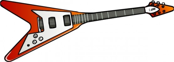 555x200 Free Electric Guitar Clip Art Free Vector For Free Download About