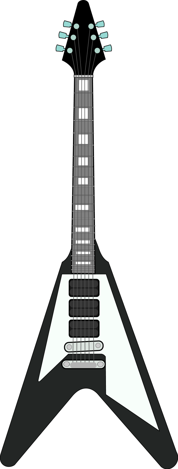 600x1577 Free Electric Guitar Clip Art Free Vector For Free Download About